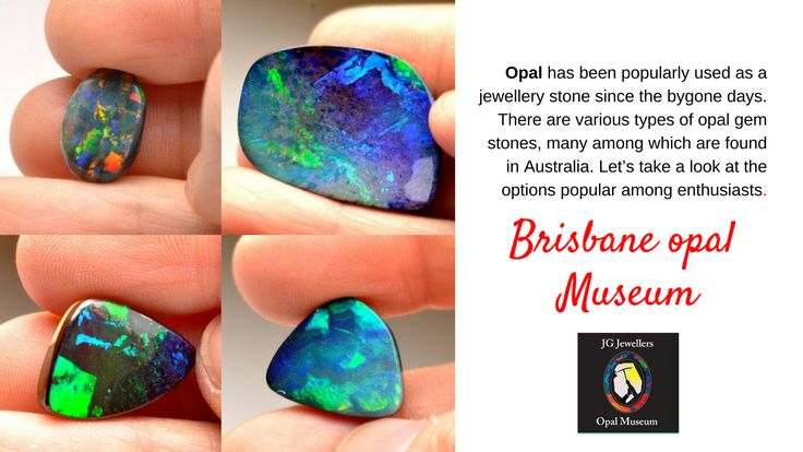 Opal has been popularly used as a jewellery stone since the bygone days. There are various types of opal gem stones, many among which are found in Australia. Let's take a look at the options popular among enthusiasts. #opalmuseum #opaljewellery