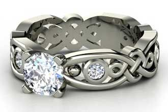 Ireland Celtic Designs and Meanings | celtic knot wedding bands claddagh celtic engagement rings celtic ...