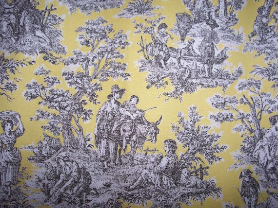 toile ironing board covers | Custom Ironing Board Cover Waverly Rustic Life Toile Lemondrop