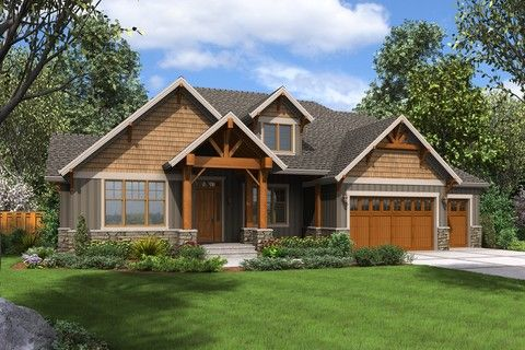 Beautiful Craftsman with Extras for the Family. Plan 23111 The Edgefield is a 3340 SqFt Craftsman, Lodge style home plan featuring Bonus Room, Covered Patio, Den, Mud Room , Storage, Utility on Same Level as Master, and Walk-In Pantry by Alan Mascord Design Associates. View our entire house plan collection on Houseplans.co.