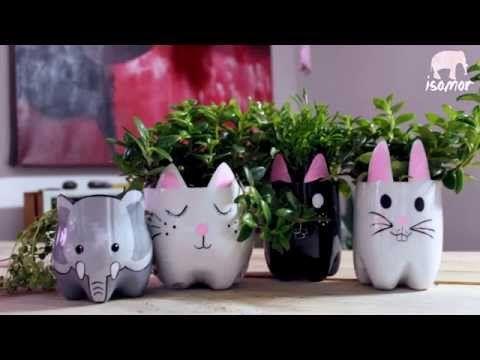 Materas hechas con Botellas Plásticas♻ - YouTube