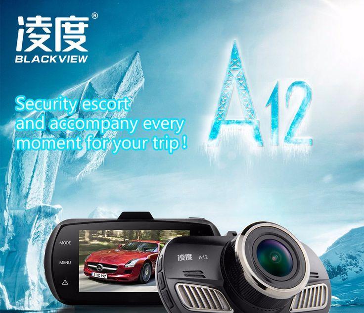A12 blackview samochód kamery ambarella a12 mini dvr full hd 2560*1440 P GPS Logger rejestrator dashcam Czarna Skrzynka z GPS funkcja