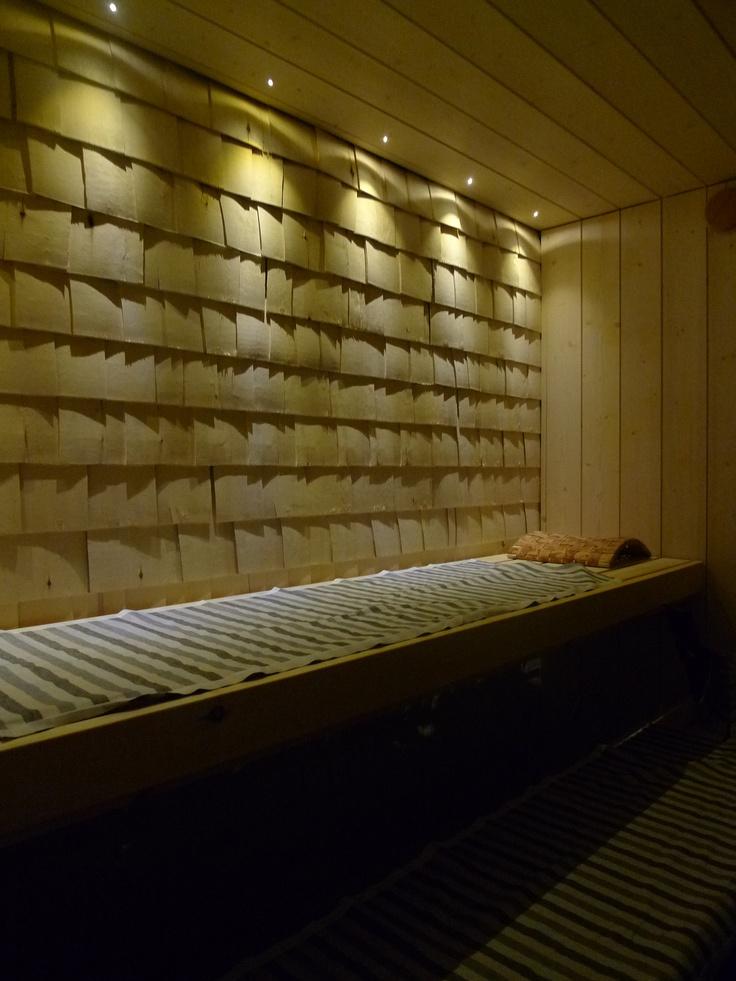 new sauna @ Petra K.