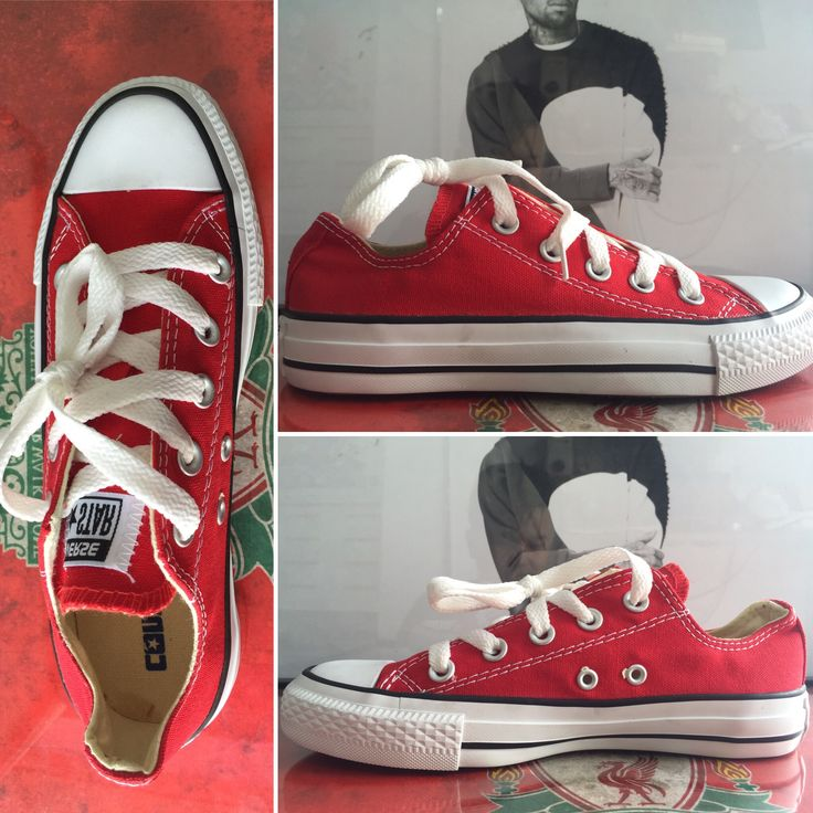 Red converse. All size available. For online-order visit Instagram @ fabulous_store_c.town or what app on 9634268341