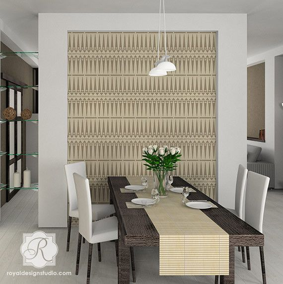 Interior Design Furniture Stencils ~ Ideas about tribal pattern wallpaper on pinterest