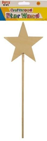 Art Shed Online - Craftwood Star Fairy Wand, $1.68 (http://www.artshedonline.com.au/craftwood-star-fairy-wand/)