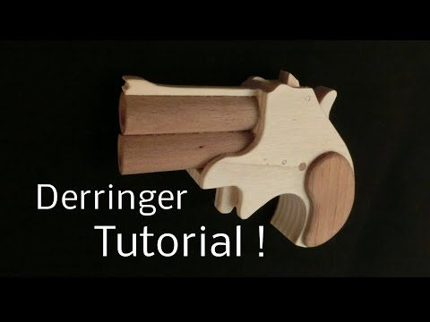 Tutorial! Derringer [rubber band gun] - YouTube