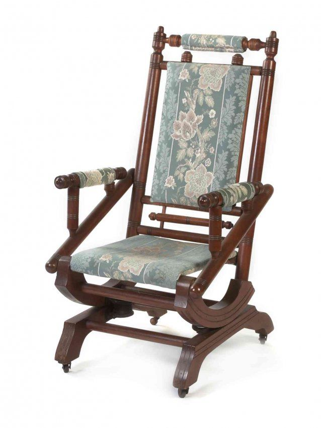 A Victorian Platform Rocker, Height 41 1/4 inches. on in 2018 | Have A Seat  | Pinterest | Victorian, Rocking Chair and Chair - A Victorian Platform Rocker, Height 41 1/4 Inches. On In 2018 Have