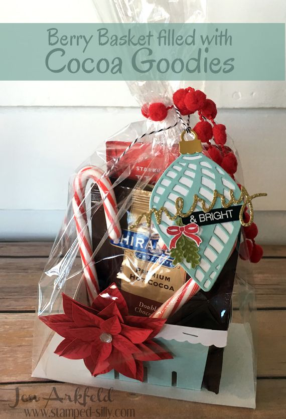 Monday, December 7, 2015  Stamped Silly: Berry Basket - not just for Berries!