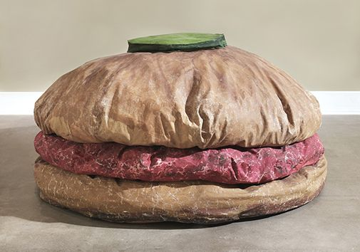 Floor Burger, Claes Oldenburg 1962