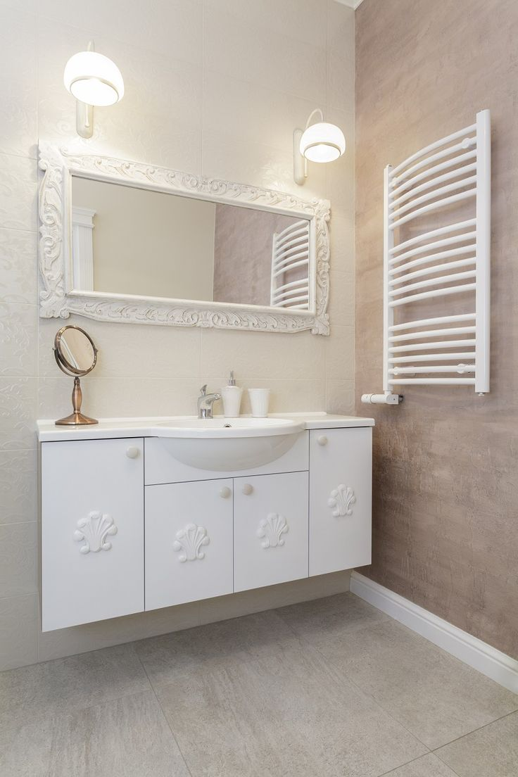 Did you know that the running costs of a heated towel rail is less than that of a light bulb?  Additionally, constantly dry towels remain fresher for longer, saving you on washing machine costs too. #homedecor