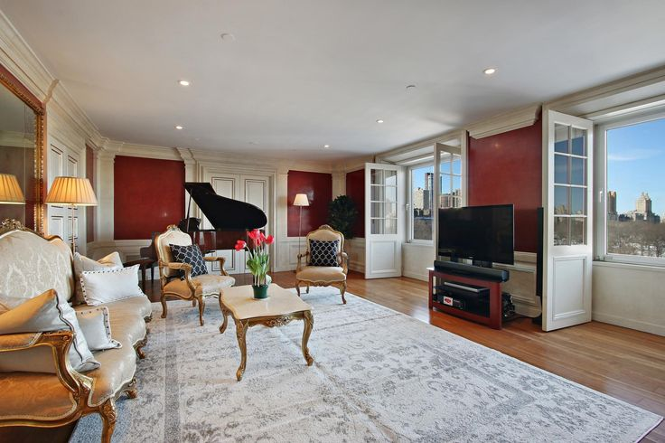 The New York City home Bowie once shared with his wife, supermodel Iman, just hit the market for $6.5 million.    The couple lived in the Essex House Manhattan condo from 1992 to 2002, and a piece of rock history will also be included in the sale. David Bowie's Yamaha piano, which has been handed down with the apartment through various owners, is staying.  The property is a 1,877 square foot three-bedroom, 2.5 bath condo with a 28-foot living room overlooking Central Park. A paneled dressing…