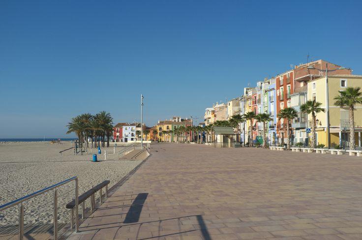 Villajoyosa Promenade, Costa Blanca.