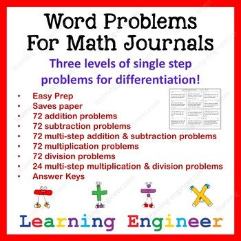 A Full Year's Worth Of Word Problems! I have bundled two word problem sets: Addition and Subtraction Word Problems for