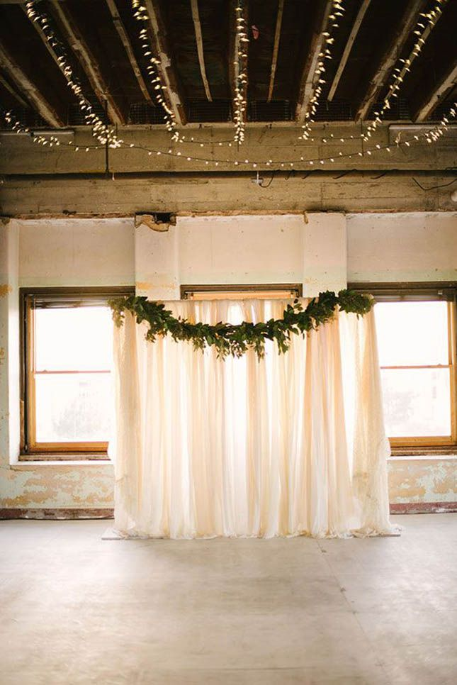 Beautiful and easy DIY wedding backdrops! | Confetti.ie