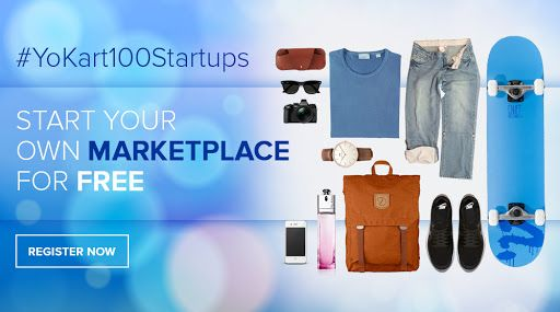 #YoKart100Startups to launch your dream online marketplace for free. Signup will close soon