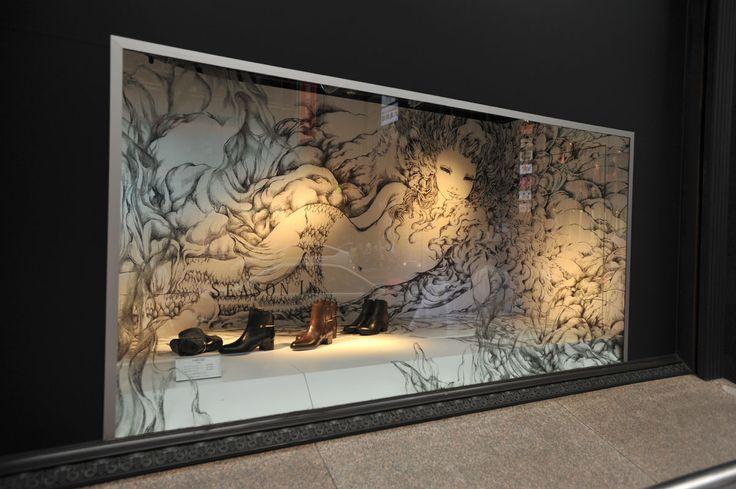 Tokyobling's Blog Kyotaro x Isetan – Shop Window Decoration