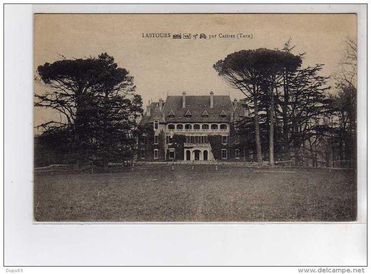France - Château de LASTOURS - très bon état