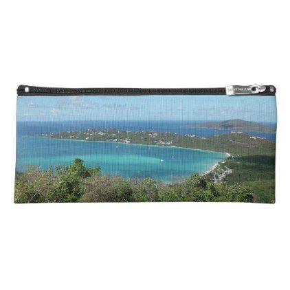 Beautiful Tropical Beach Caribbean Paradise Photo Pencil Case | Zazzle.com
