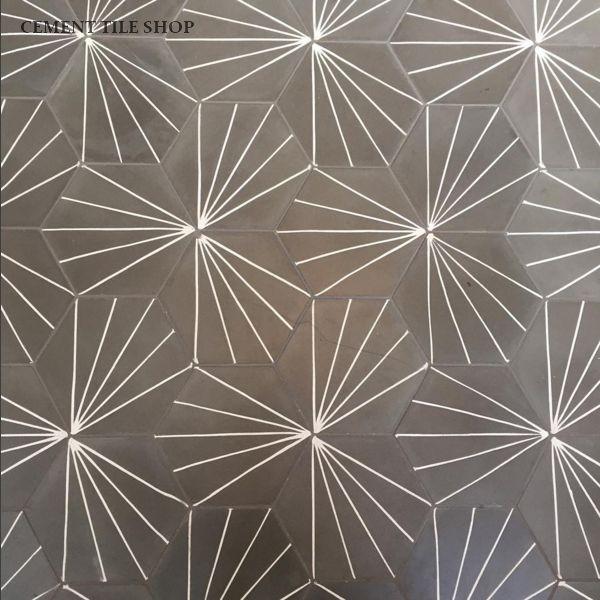 Cement Tile Shop Encaustic Cement Tile Tess IV Little bathroom