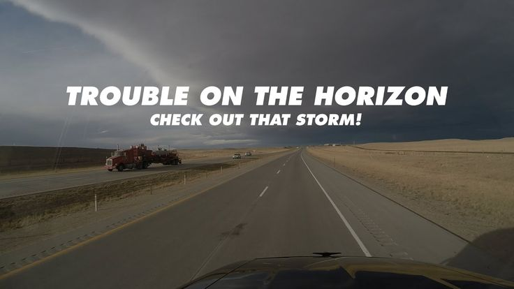 Trouble on the Horizon | Allie Knight