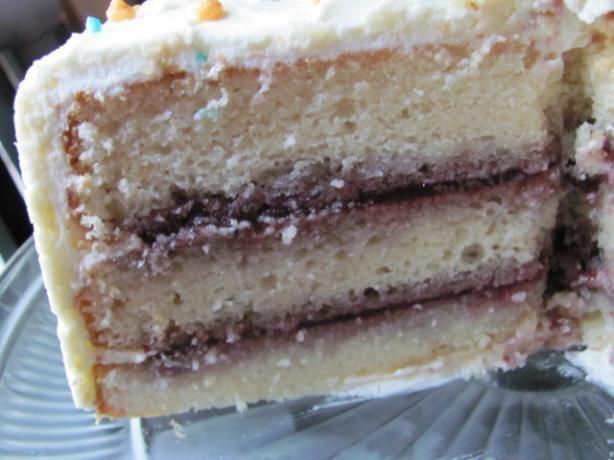 Wedding cake recipe with sour cream