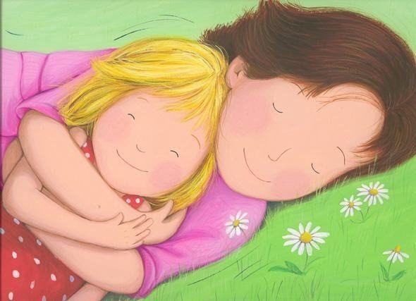 Мама - самая дорогая роскошь в мире. Так будьте добры, цените её.  Иллюстрация: Estelle Corke