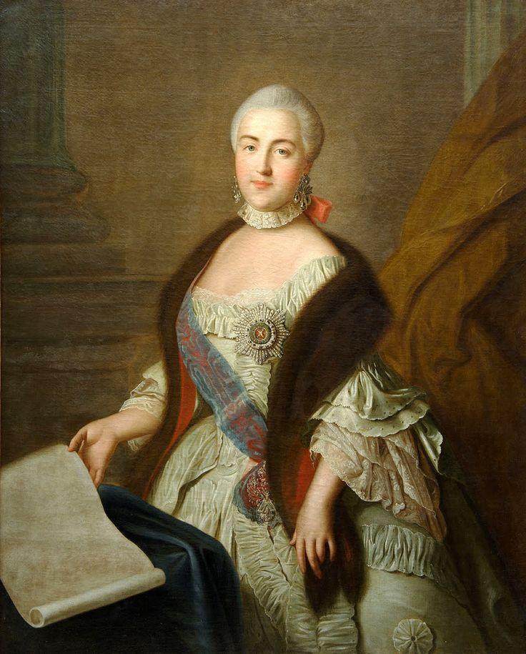 https://flic.kr/p/akCgjp | Catalina la Grande de Rusia_1760_Ivan Argunov