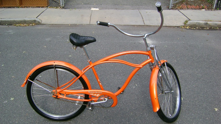 Pearl Orange Kustom Kruiser A Beautiful Bike Bikes Bikes Bikes
