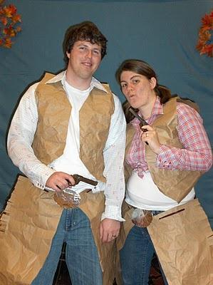 Paper Bag Cowboy Costumes