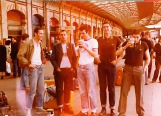 Portsmouth 6.57 80s casuals, football hooligans
