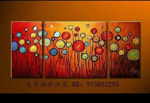 Modern oil painting 100% hand painting  e.5thvillage.com/seller/jcmodernart/