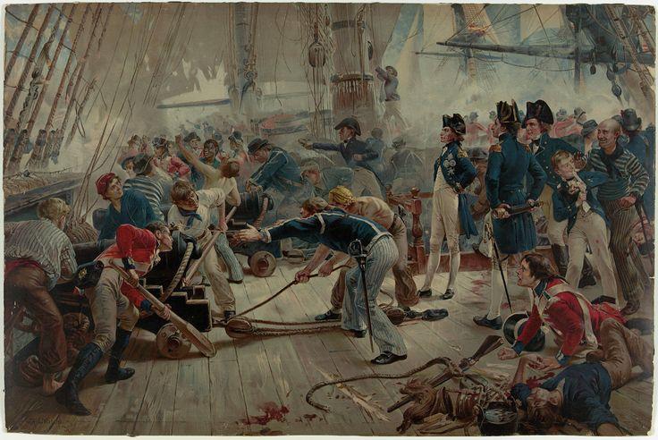 The Hero of Trafalgar, 21 October 1805 - National Maritime Museum
