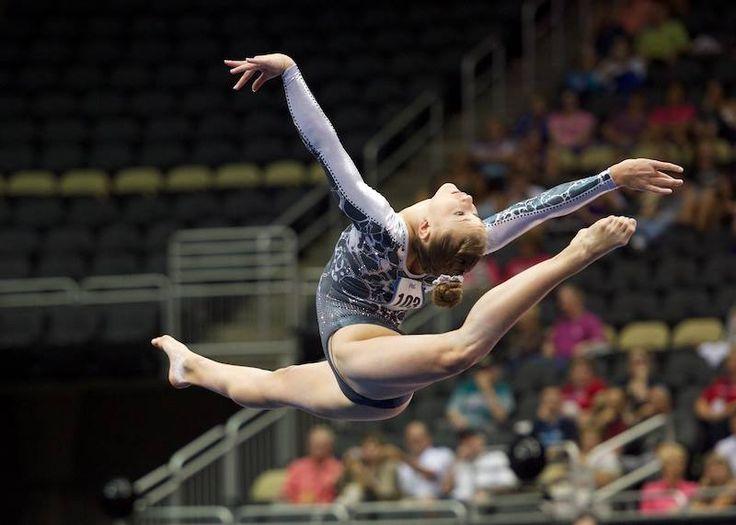 Madison Desch--2014 P&G Championships day one