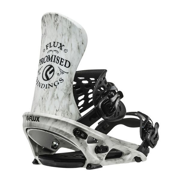 Flux TEAM Snowboard Bindings - Marble