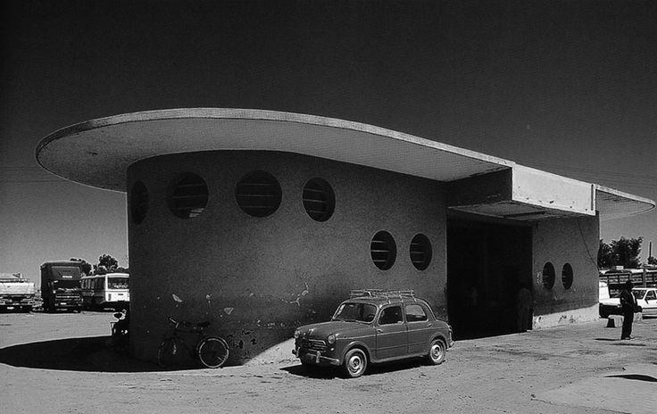 unknown architect - agip service station, dekemhare road, godaif, asmara, 1937