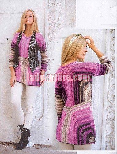 May 2015 Zhurnal MOD 585 Russian crochet n knit patterns