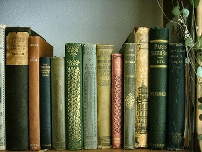 I love old books.