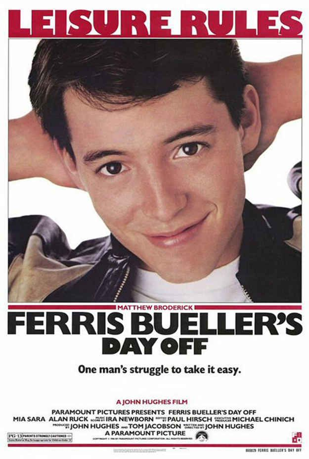 Ferris Bueller's Day Off (1986) | 25 Movies From The '80s That Every Kid Should See