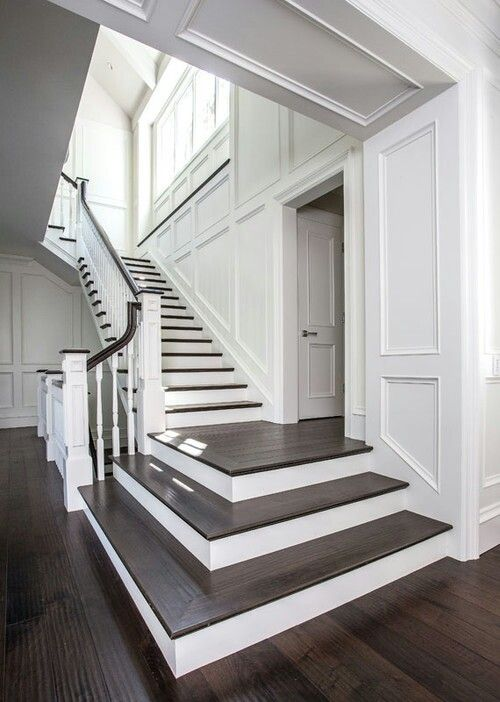 Best 8 Best Two Tone Staircase Images On Pinterest Stairways 400 x 300