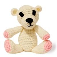 Cute Baby Teddy Bear with rattle inside - UK
