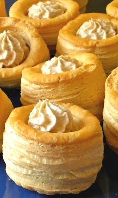 Thermomix Recipes: Vol Au Vent filled with Tuna Mousse Thermomix