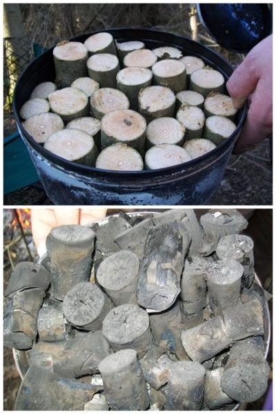 Make Your Own Charcoal Easy and Cheap DIY Project Homesteading - The Homestead Survival .Com