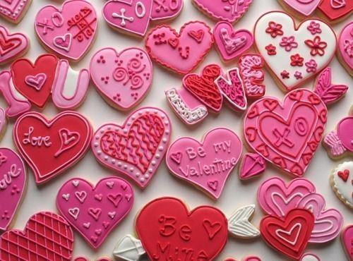 CUTE #heart #valentine #cookies decorating ideas!
