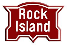 """The classic Chicago, Rock Island & Pacific better known as just the """"Rock Island.""""  The Midwestern railroad disappeared in 1980, liquidated and sold off."""