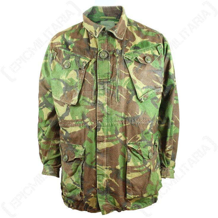 Original British DPM Rip Stop Field Jacket