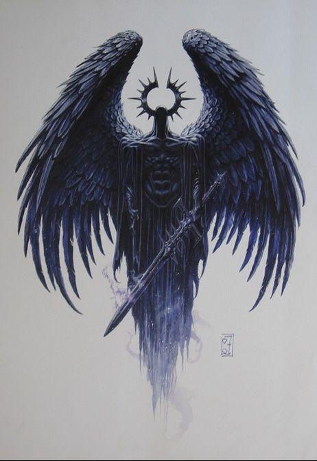 Karasu's Wappen, das Wappen einer dunklen Welt...
