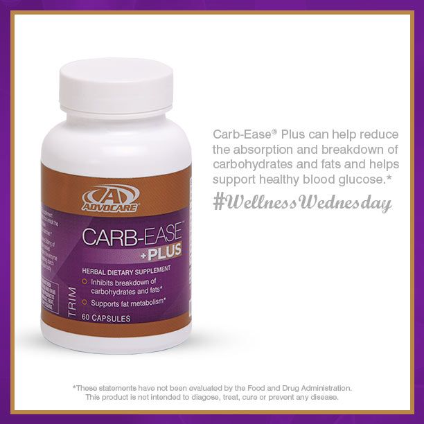 #AdvoCare Carb-Ease® Plus helps inhibit the breakdown and absorption of carbohydrates.*