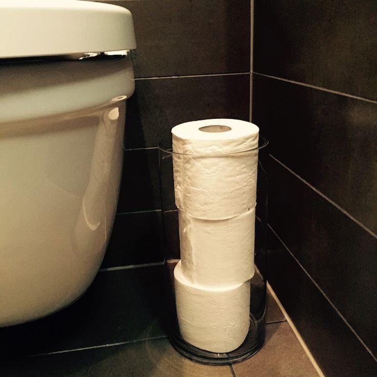 toalettpapper i vas