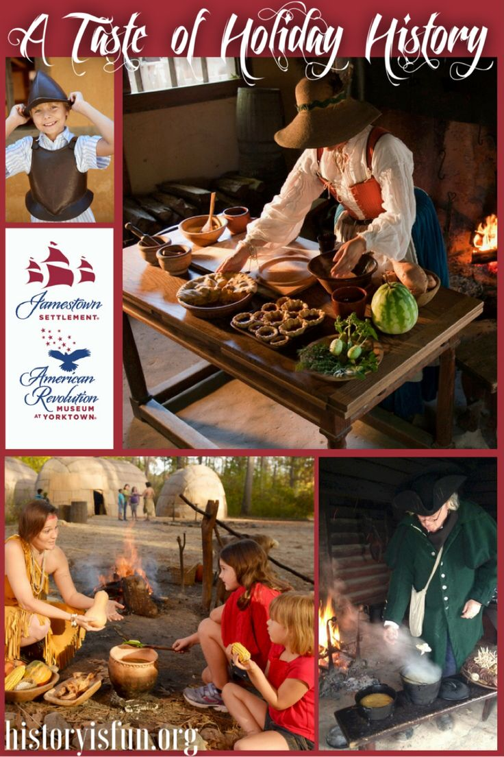 Visit Jamestown Settlement to experience living history